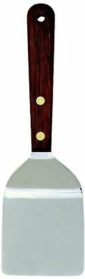"Norpro Spatula/ Turner Stainless Steel Wide Head Wood Handle 7.5"" X 2.25"" X .5"""