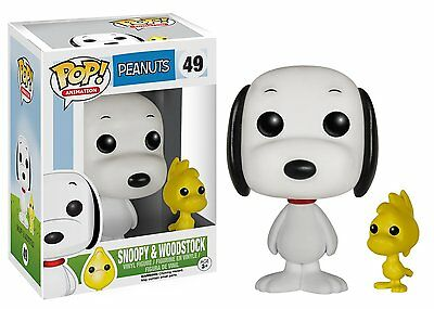 Funko Pop TV Peanuts Snoopy & Woodstock Vinyl Action Figures Collectible Toys 49