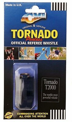Acme Tornado Plastic Pealess Official Referee Coach Whistle T2000