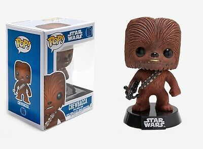 Funko Pop Star Wars™: Series 1 - Chewbacca™ Vinyl Bobble-Head Item #2324