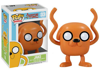 Funko Pop TV Adventure Time Jake Vinyl Action Figure 3057 Collectible Toy, 3.75""