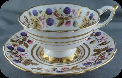Royal Stafford Golden Bramble Berries Cup & Saucer