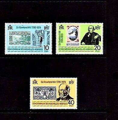 New Hebrides - French - 1979 - Rowland Hill - Stamp On Stamp  - Mint Set!