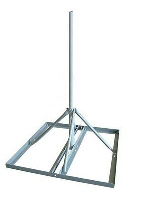 ROHN FRM150 Non-Penetrating Roof Mount with 1 50 x 30 Mast