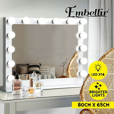 Hollywood Makeup Mirror With Light LED Bulbs Vanity Beauty Mirror Dressing Room
