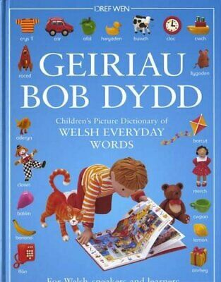 Geiriau Bob Dydd - Children's Picture Dictionary of W... by Roger Boore Hardback