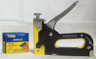 Marksman 3 in 1 Staple Gun With 600 Staples - In Carry Case