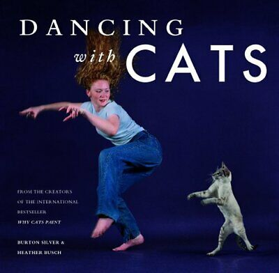 Dancing with Cats by Burton Silver Book The Cheap Fast Free Post