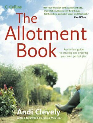 The Allotment Book by Clevely, Andi Hardback Book The Cheap Fast Free Post