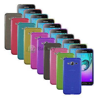 Lot of 10 Genuine Soft Ultra Slim Rubber Protector Case for Samsung Galaxy J3