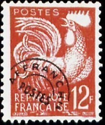 "FRANCE PREOBLITERE TIMBRE STAMP N° 111 "" COQ GAULOIS 12F "" NEUF xx TTB"