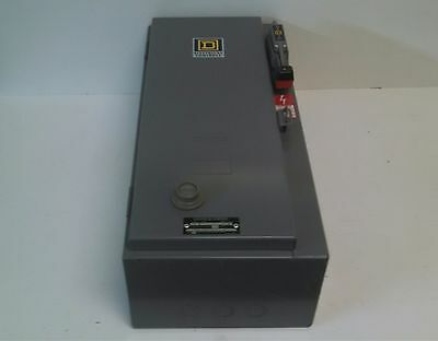New Old Stock! Square D 30A Combination Motor Starter 8538-Sbg-12-Ft Ser.a