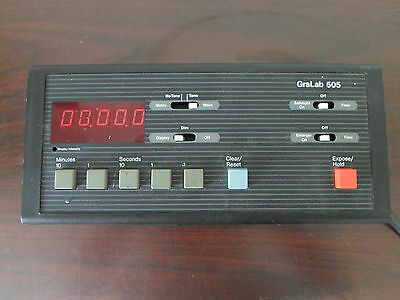 GraLab Digital Darkroom Timer Model 505
