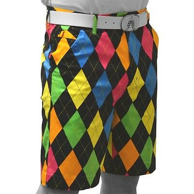 Royal and Awesome Originale Pantaloncini Da Golf (Disco Diamanti)