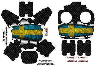 Sweden Flag DJI Phantom 3 Standard Decal Skin Wrap Sticker