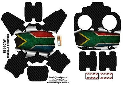 South Africa Flag DJI Phantom 3 Standard Decal Skin Wrap Sticker