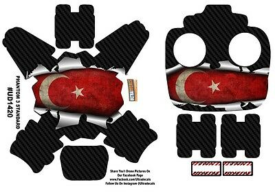 Turkey Flag DJI Phantom 3 Standard Decal Skin Wrap Sticker