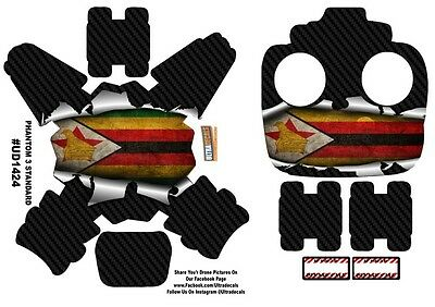 Zimbabwe Flag DJI Phantom 3 Standard Decal Skin Wrap Sticker