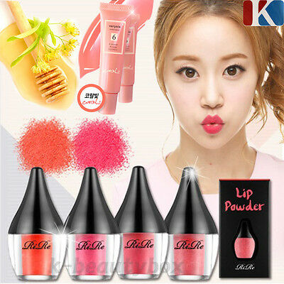 RIRE NEW LIP POWDER 4 Color, Lip Remover, Kissing Lip Gloss / Korean Cosmetics