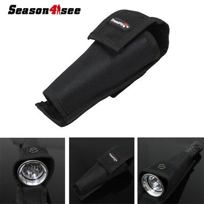 TrustFire Big Head Flashlight Pouch Holster Case Cover Bag 135x65x25MM For Torch