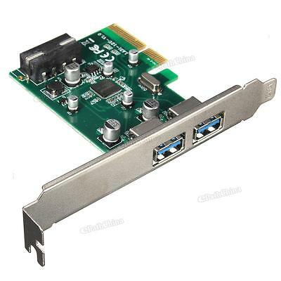 2-port PCI Express USB 3.1 Expansion Card Support Slot: PCI-E 4X / 8X / 16X