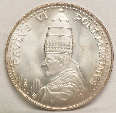 Vatican City, 1975 Holy Year, Pope Paul VI, Medal, - Offical, Uncirculated   bgr
