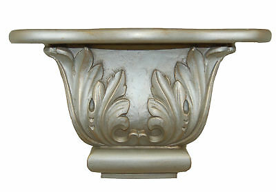 Hickory Manor House Scroll Leaf Shelf