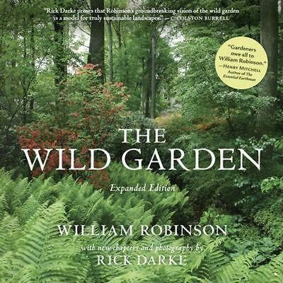 The Wild Garden by William Robinson (English) Hardcover Book Free Shipping!