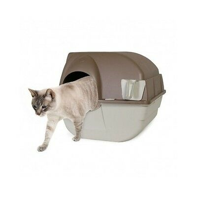 Self Cleaning Cat Litter Tray Box Kitten Toilet Easy Use Indoor Cats Roll Clean