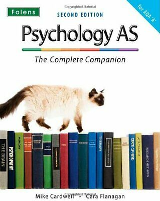 The Complete Companions: Psychology AS - The Compl... by Cara Flanagan Paperback