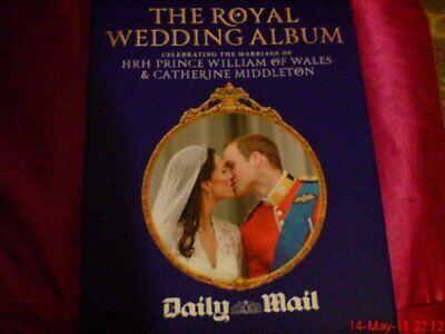 WILLIAM AND CATHERINE THE ROYAL WEDDING ALBUM Book The Cheap Fast Free Post