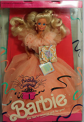Birthday Surprise Blonde Barbie 1991, MIB NRFB - 03679