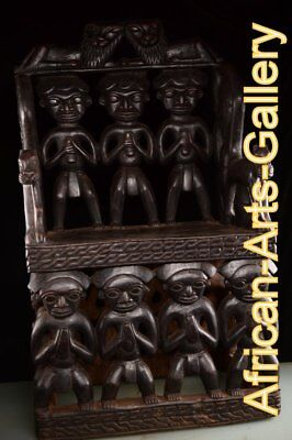 54788 Royal Chair of the Bamun Cameroon / Cammeron Africa