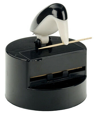 RSVP Willie Woodpicker Toothpick Dispenser Holder Appetizer Penguin Pete WWP-24