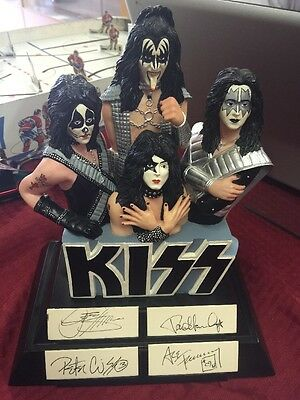 Gartlan Kiss Autographed Figurine Signed By 4 Members