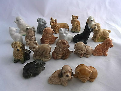Wade Whimsie Dogs and Cats - Various