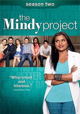 The Mindy Project: Season Two [New DVD] 3 Pack, Slipsleeve Packaging, Snap Cas