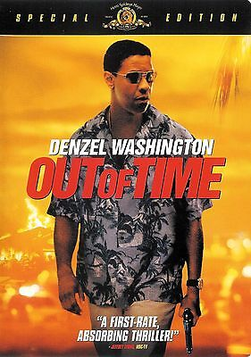 Out of Time ~ Denzel Washington Eva Mendes Special Edition DVD WS FREE Shipping