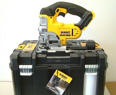 DeWALT DCS331NT 18v XR Jigsaw Naked in Deep T-Stak VI Case NEW