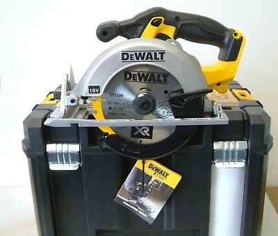 DeWALT DCS391NT 18v XR CIRCULAR SAW NAKED in DEEP T-STAK VI CASE NEW