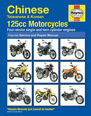 Haynes Manual No. 4871 Motorbike/Motorcycle for Hyosung RT 125 07-10
