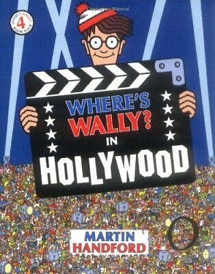 Where's Wally? In Hollywood by Handford, Martin Paperback Book The Cheap Fast