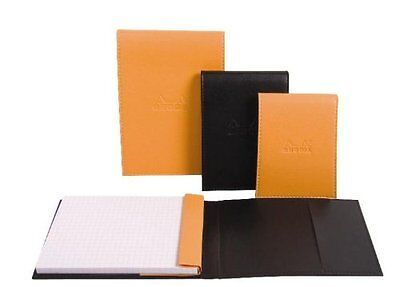 "Rhodia 118168 Pad holders with Pen Loop (Pencil Not Included) 6"" x 8 3/4"" Cov..."