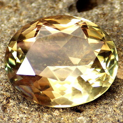 GREEN DICHROIC SCHILLER OREGON SUNSTONE 14.47Ct FLAWLESS-LARGE-FOR RARE JEWELRY!