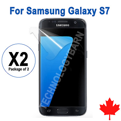 2x Ultra Clear Screen Protector For Samsung Galaxy S7