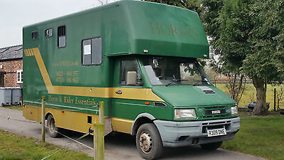 Ford Iveco Turbo Daily 6.5 ton gross Horsebox