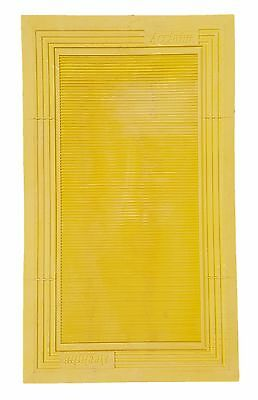 ACCLAIM Heavy Duty Bowls Delivery Mat Ribbed Yellow Marked Reject DD1