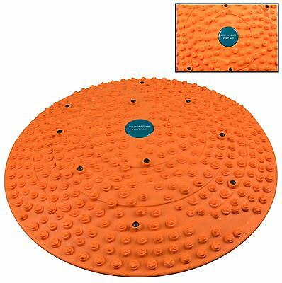 Acupressure Foot Massager Mat Round Dome Energy Health Pain Relief Therapy Power