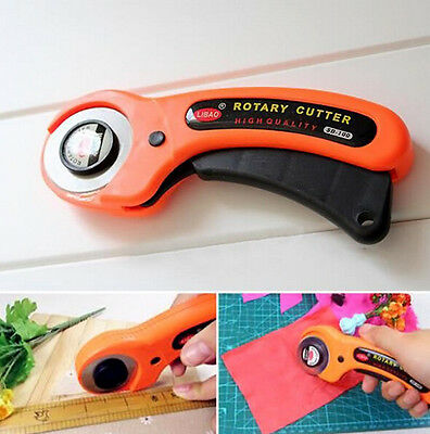Hot INU S 45mm Rotary Cutter Quilters Sewing Quilting Fabric Cutting Tools Kits