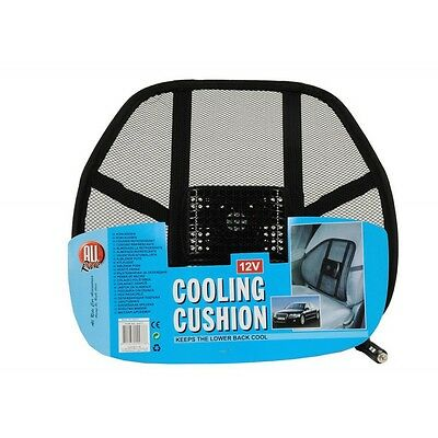 Coussin Refroidissant Dos transpiration voiture 12v Allume Cigare